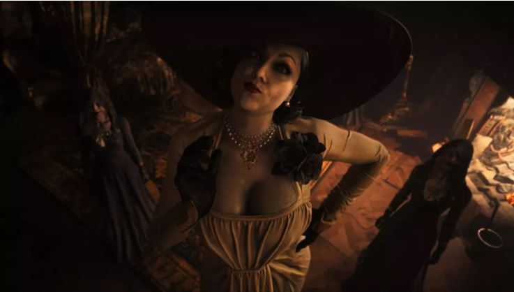 Seznamte se: Lady Dimitrescu 290 centimetrů vysoká  dáma z Resident Evil